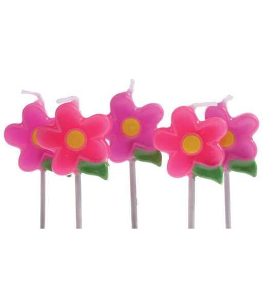 Flower Cake Candle